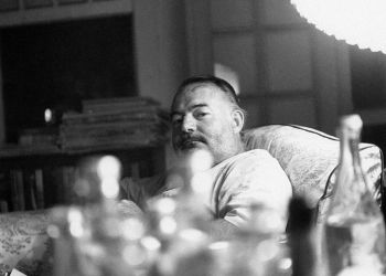 Ernest Hemingway en Cuba. Foto: Gamma-Rapho via Getty Images.
