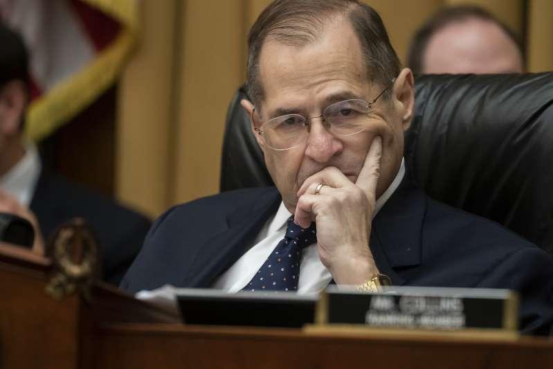 Jerry Nadler, presidente del Comité Judicial de la Cámara de Representantes. Foto: AP.
