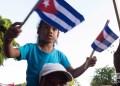 """Desfile por el Día Internacional de los Trabajadores, el 1ro de mayo de 2019 en la Plaza de la Revolución """"José Martí"""" de La Habana. Foto: Otmaro Rodríguez."""