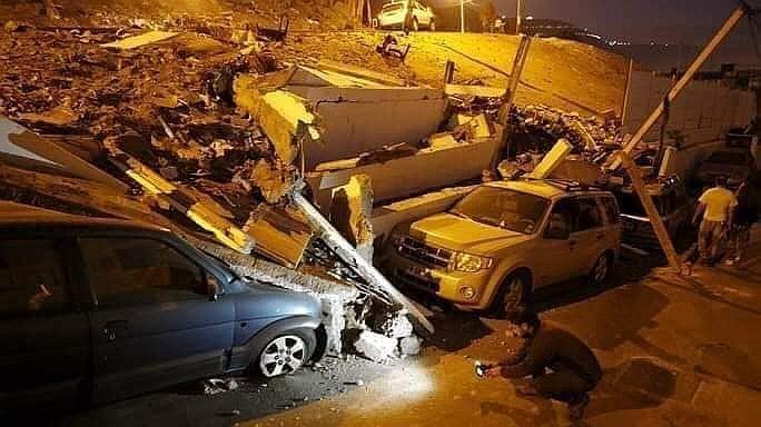 Alcalde de Lagunas revela que están en tinieblas y hay varios derrumbes. Foto: diariocorreo.com
