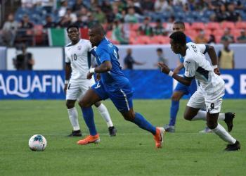 Cuba siempre corrió detrás de Martinica y no tuve ninguna oportunidad de ganar el partido.  EFE/ Todd Pierson