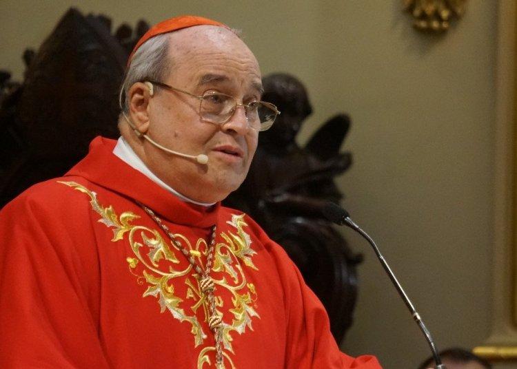 Cardenal Jaime Ortega Alamino en la homilía en la Catedral de Notre Dame de Quebec, septiembre de 2014. Foto: CNS / Deborah Gyapong, Canadian Catholic News.