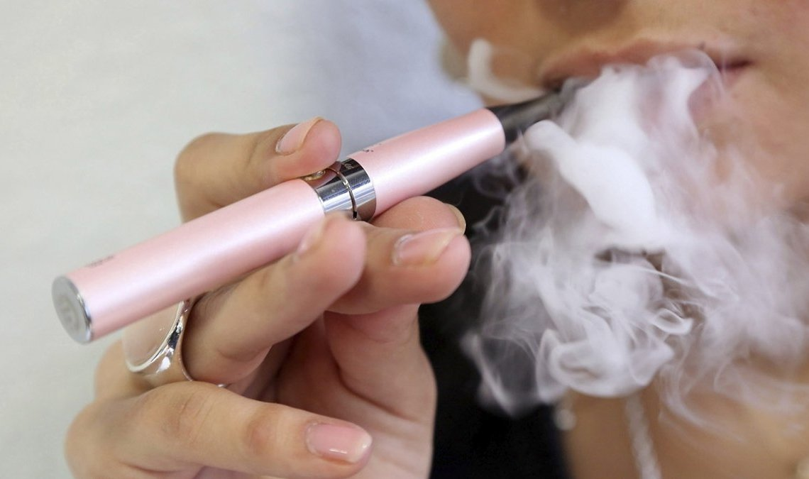 Cigarrillo electrónico. Foto: infobae.com