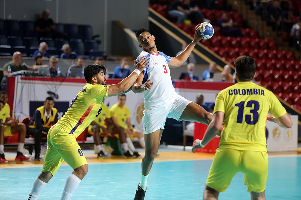 Omar Toledano es el máximo anotador de la selección cubana en el Mundial. Foto: IHF