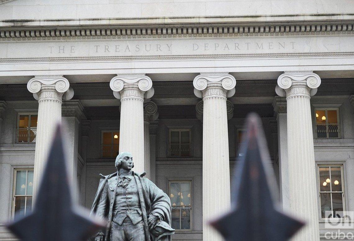 Departamento del Tesoro de los Estados Unidos. Foto: Marita Pérez Díaz.