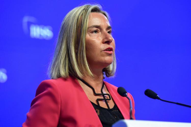 La jefa de la Diplomacia de la Unión Europea (UE), Federica Mogherini. Foto: middle-east-online.com.