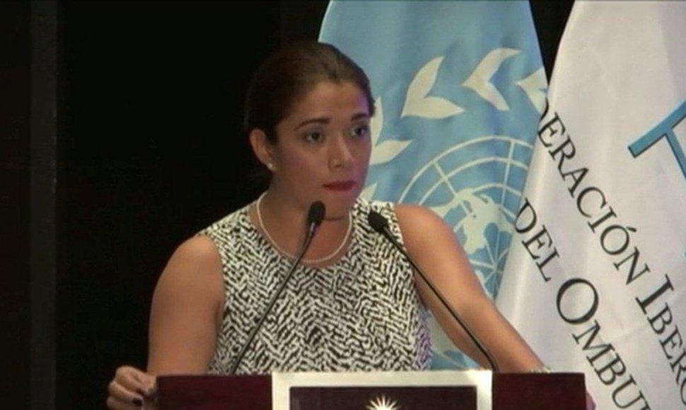 Namibia Fuentes González. Foto: Captura de video.