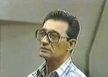 Arnaldo Ocho durante el juicio de la Causa 1.
