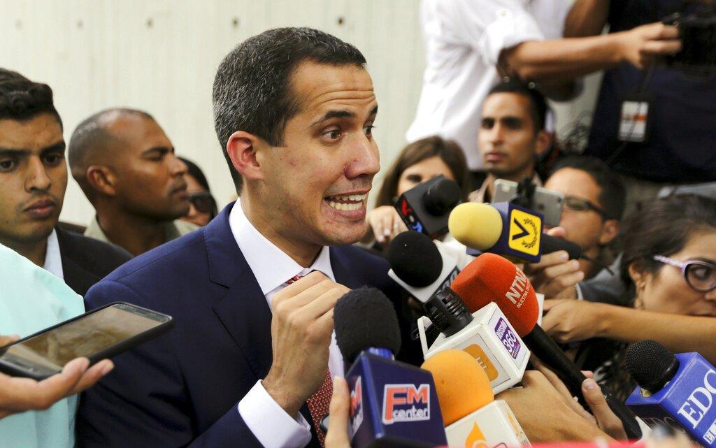 Juan Guaidó. Foto: Fernando Llano/AP.