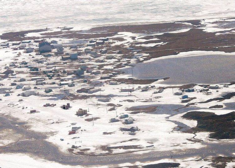 En esta fotografía del 24 de mayo de 2006 se muestra la localidad de Newtok, Alaska.Foto: AP Foto/Al Grillo/Archivo.