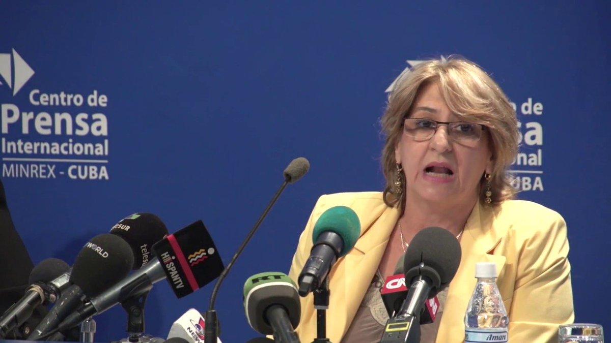 Alina Balseiro Gutiérrez. Foto: Telesur.
