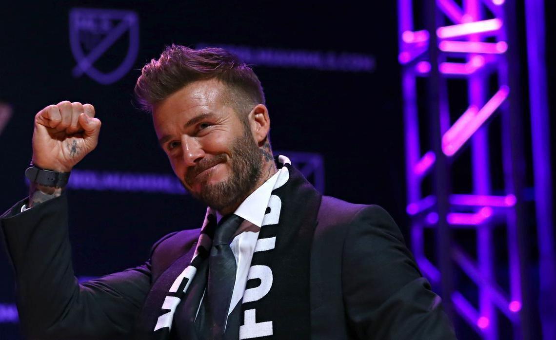 David Beckham, principal promotor del Inter Miami FC. Foto: vipdeportivo.es