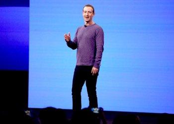 El director general de Facebook, Mark Zuckerberg, durante una conferencia de programadores de Facebook en San Jose, California, abril de 2019.  Foto: Tony Avelar/ AP.