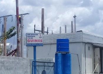 Subestación eléctrica de Güines, en el occidente cubano. Foto: Radio Mayabeque.
