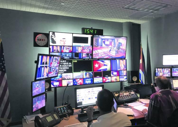 Estudios de TV Martí en Doral, Florida. Foto: Miami Herald.