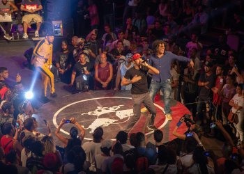 El Centro Cultural Bertolt Bretch fue la sede del Red Bull Batalla de Gallos 2018. Foto. Cortesía Red Bull Batalla de Gallos Cuba.