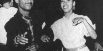 Benny Moré y Marta Castillo. Foto: Cortesía de la Marta Castillo.