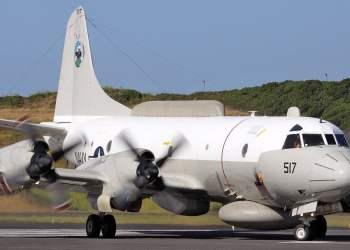 Aeronave EP3 estadounidense. Foto tomada de la cuenta de Twitter del Comandante venezolano Codai.