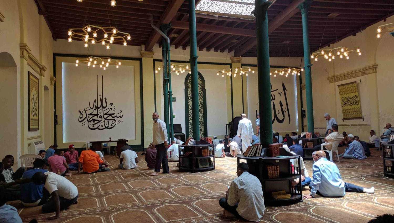 Mezquita Abdallah en la habana