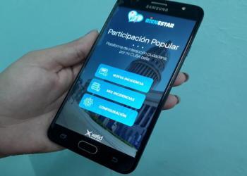 """Aplicación cubana """"Participación Popular"""" para móviles android, que persigue facilitar las """"denuncias ciudadanas"""" y el vínculo con las """"instancias de gobierno"""". Foto: Granma."""