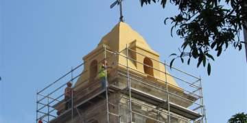 Restauración en el convento de Santa Clara