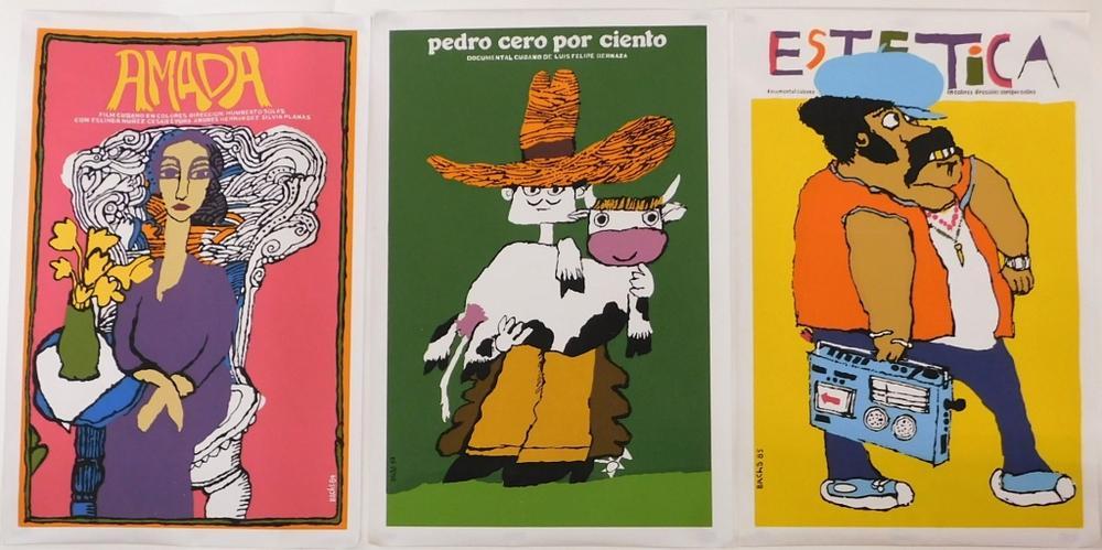Eduardo Muñoz Bach-carteles cine cubano