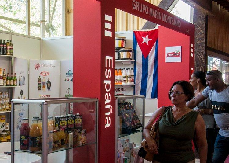 Pabellón de España en la Feria Internacional de La Habana 2018. Foto: Claudia Yilén Paz/Cubahora.