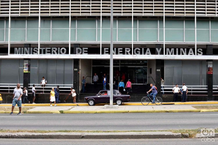 Sede del Ministerio de Energía y Minas de Cuba, en La Habana. Foto: Otmaro Rodríguez.