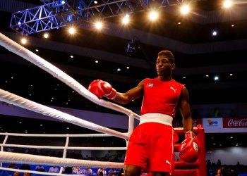 Andy Cruz es hoy, sin discusión, el mejor boxeador de Cuba y el más serio aspirante al título olimpico en Tokio 2020. Foto: Calixto N. Llanes/JIT