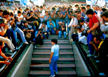 "Escena del documental ""Diego Maradona"". Foto: HBO/AP."