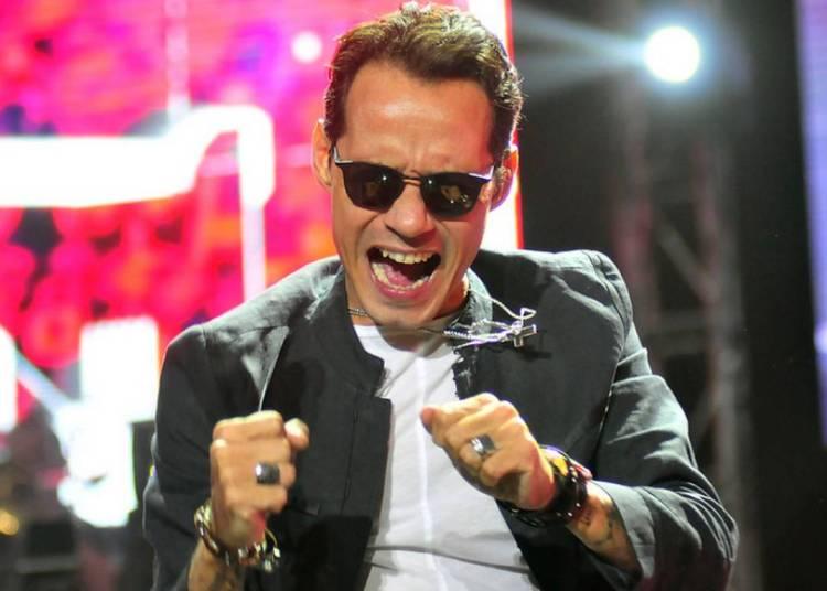 El astro de la salsa Marc Anthony. Foto: tvn.cl