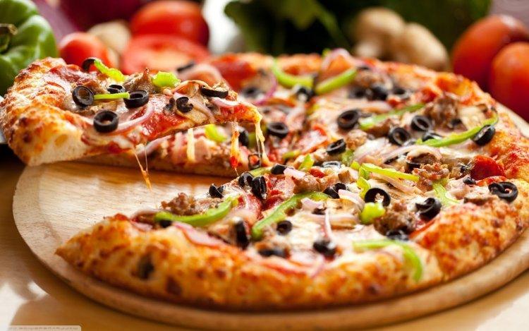 Pizza italiana. Foto: videosrecetas.com