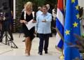 La jefa de la diplomacia de la Unión Europea, Federica Mogherini, y el canciller cubano Bruno Rodríguez tras el Segundo Consejo Conjunto Cuba-UE celebrado en La Habana el 9 de septiembre de 2019. Foto: Otmaro Rodríguez.