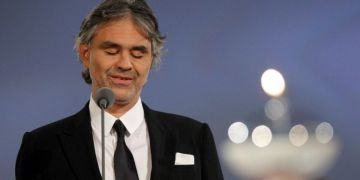 El tenor italiano Andrea Bocelli. Foto: T13.