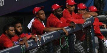 Las caras largas se han hecho habituales en el banco de Cuba en los eventos internacionales. Foto: Jit / Facebook.