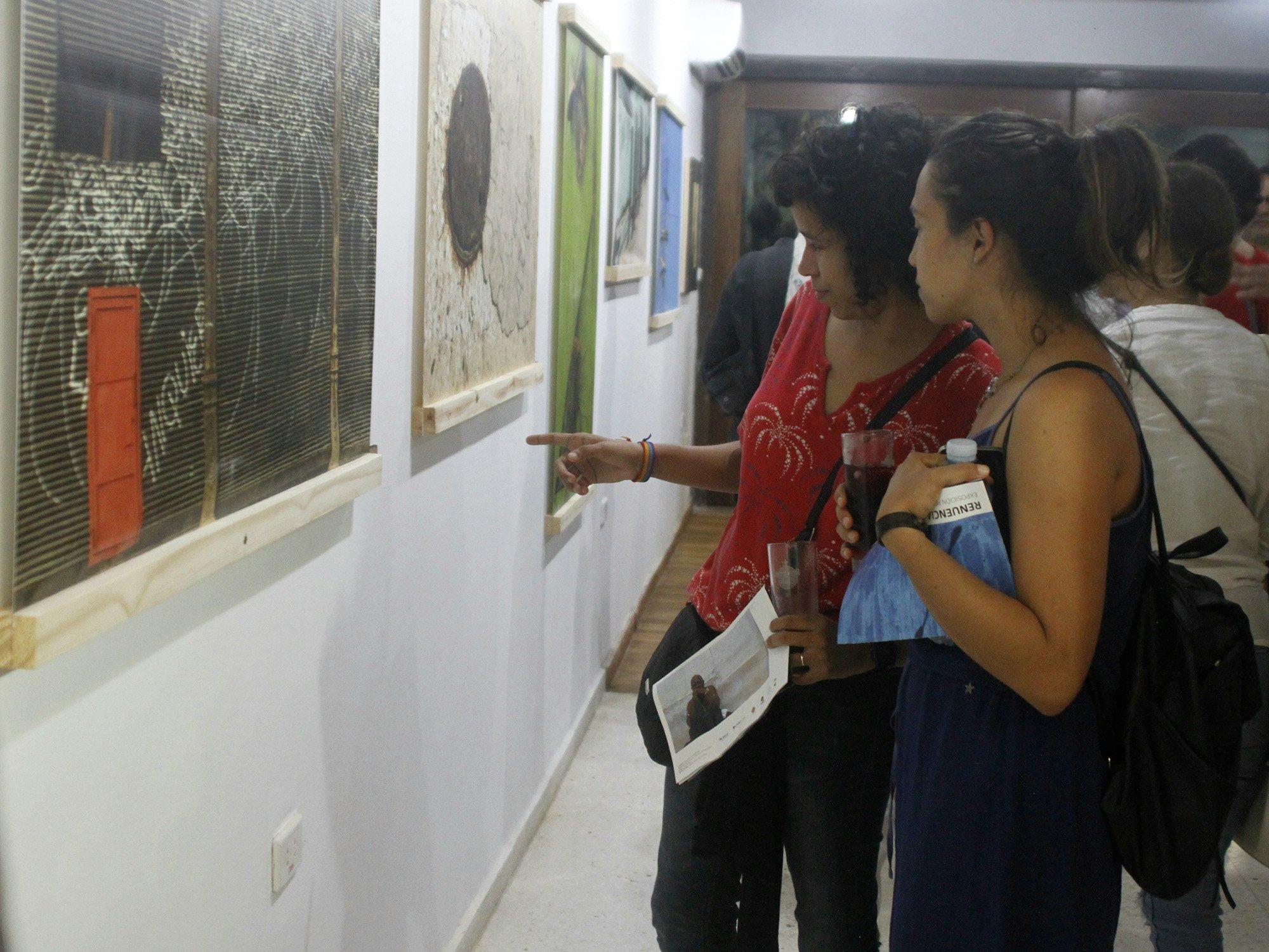 Exposición-Renuencia-Inauguración-Carlos Torres Cairo