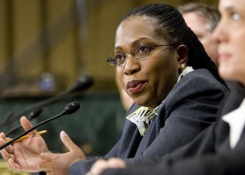 La jueza federal Ketanji Brown Jackson, del distrito de Columbia. Foto: AP.
