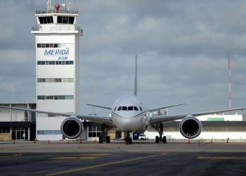 Aeropuerto de Mérida. Foto: sipse.com
