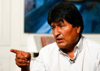 El expresidente boliviano Evo Morales habla durante una entrevista con The Associated Press en la Ciudad de México, el jueves 14 de noviembre de 2019. Foto: Eduardo Verdugo / AP.