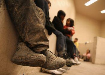 Celda de detención para inmigrantes en McAllen, Texas. Foto: John Moore / Getty Images.