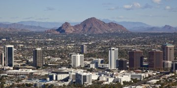 Phoenix, la capital de Arizona. Foto: AP.