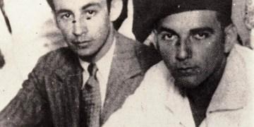 Pablo de la Torriente (d) junto a su amigo Raúl Roa. Foto: Cubahora / Archivo.