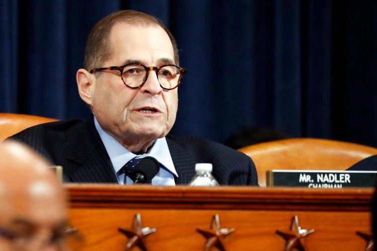 El presidente de la Comisión de Asuntos Jurídicos de la Cámara de Representantes Jerrold Nadler. Foto: Jacquelyn Martin/AP.