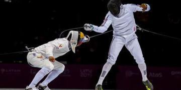 Espadachín cubano Yunior Reytor buscará puntos en Grand Prix de Doha, Catar, para su clasificación a Tokio 2020. Foto: vanguardia.cu