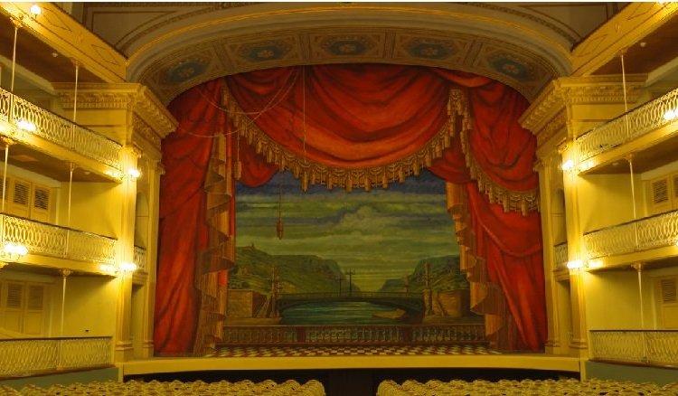 El Teatro Sauto, Matanzas. Foto: ACN.