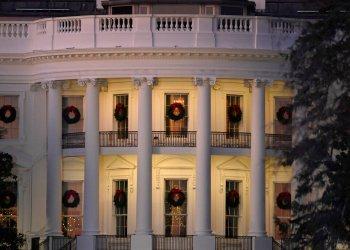 La fachada sur de la Casa Blanca, Washington. Foto: Susan Walsh/AP.