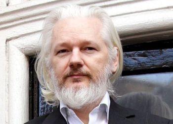 Julian Assange. Foto: Yui Mok.