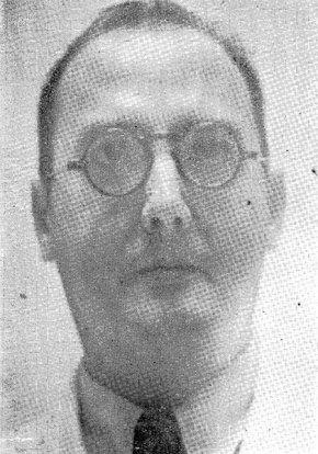 El periodista, escritor y humorista cubano Miguel de Marcos. Foto: Recorte de prensa / Archivo de Ignacio Fernández Díaz.