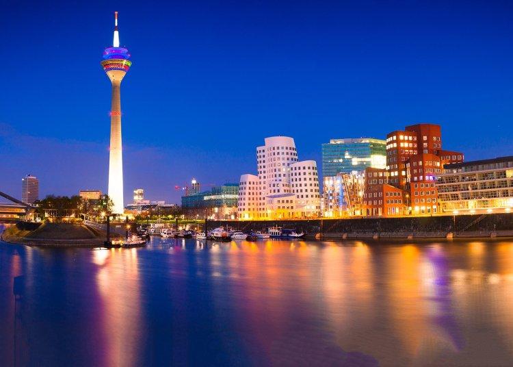 La ciudad de Dusseldorf. Foto: International Judo Federation.