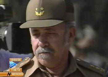 El histórico revolucionario cubano Efigenio Ameijeiras. Foto: Captura de pantalla.